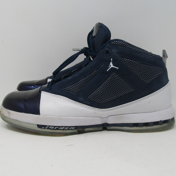 23a2c48e980 Jordan Shoes | Nike Air 16 Midnight Navy White Size 105 | Poshmark